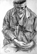 Franco Resecco - Nonno Luigi. Studio dal vero