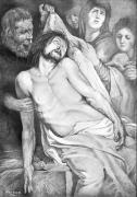 Franco Resecco - Deposizione. Copia dal Cristo di Rubens