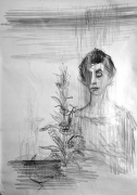 Franco Resecco - Donna e natura morta