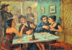 Franco Resecco - Bevitori di assenzio