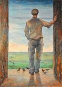 Franco Resecco - Uomo sulla porta