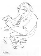 Franco Resecco - Uomo che legge