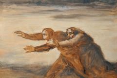 Franco Resecco - Uomo e donna con mani tese