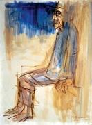 Franco Resecco - Uomo seduto